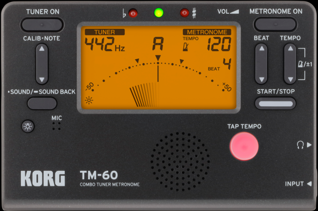 KORG TM-60 - Stimmgerät mit Metronom