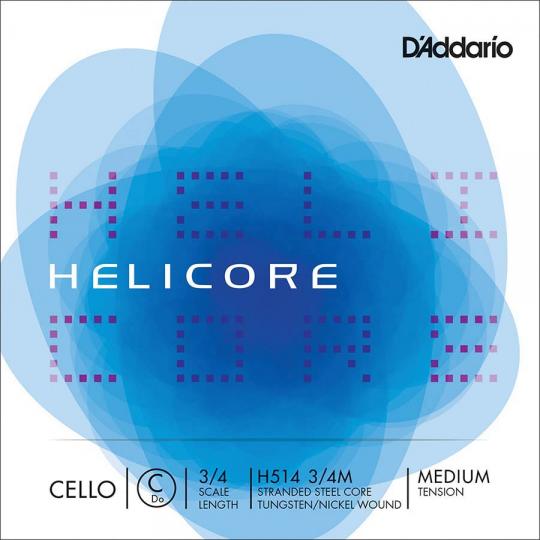 D´ADDARIO  Helicore C-Saite Cello 3/4, medium