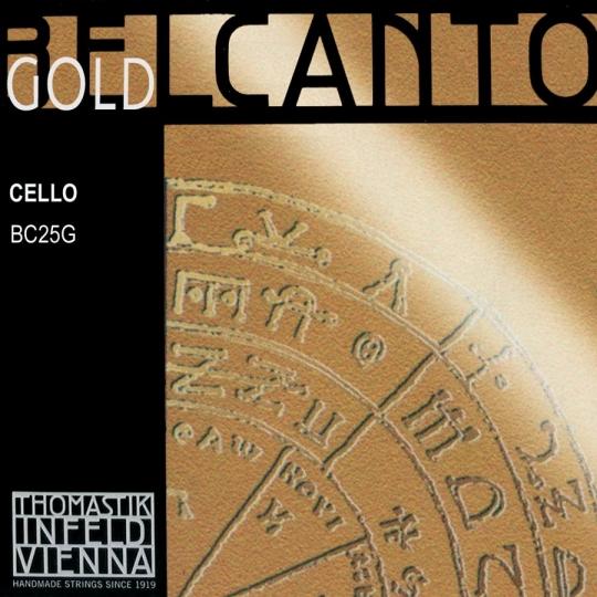 THOMASTIK  Belcanto Gold A-Saite für Cello