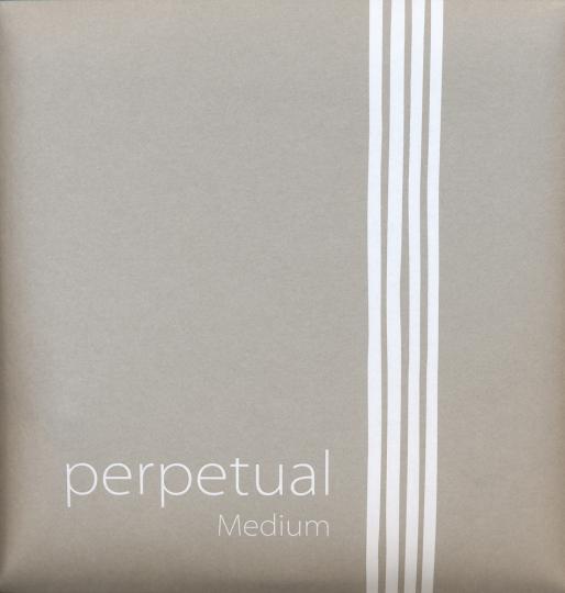 Pirastro Perpetual Satz Violinsaiten mit E-Kugel (herausnehmbar), medium