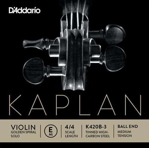 KAPLAN Golden-Spiral Solo E-Saite Kugel, medium