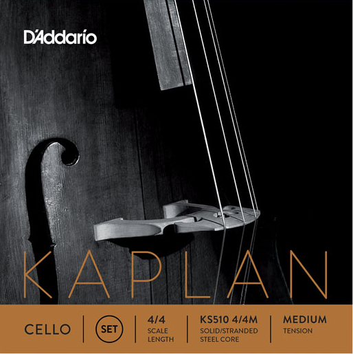D' Addario Kaplan Cello Satz 4/4 medium