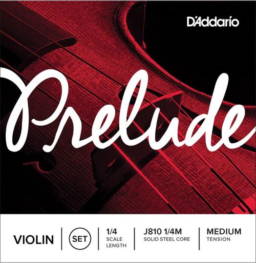 D´ Addario Preulde Satz 4/4 Violine mit E-Kugel, medium