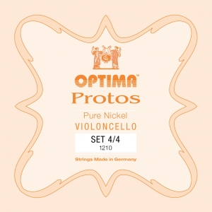 LENZNER-Optima Protos Satz Cellosaiten 3/4, mittel