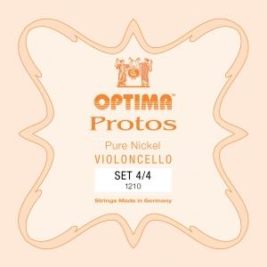 LENZNER-Optima Protos Satz Cellosaiten 1/2, mittel