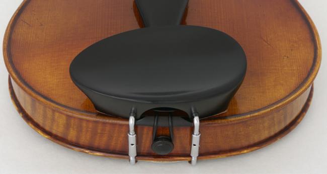 Flesch rund, Kinnhalter Ebenholz für Linkshänder Violine 4/4 - 3/4