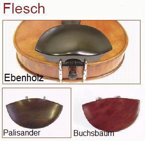 Original Flesch, Kinnhalter Buchsbaum