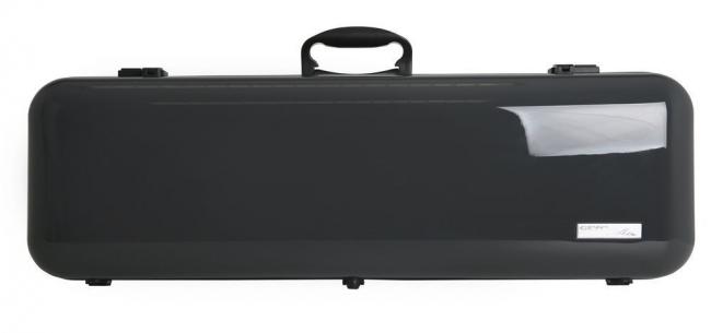 Gewa Violinkoffer Air 2.1, grau hochglanz