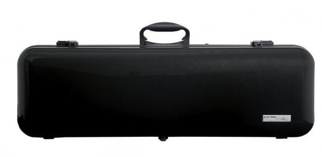 Gewa Violinkoffer Air 2.1, schwarz metallic hochglanz