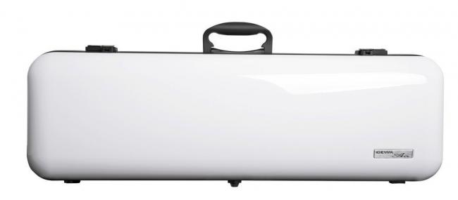 Gewa Violinkoffer Air 2.1, weiß hochglanz