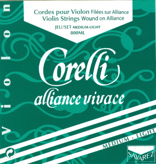CORELLI Alliance E-Saite Violine mit Kugel, med.light