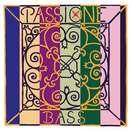 Pirastro Passione Kontrabass Satz Solo, mittel