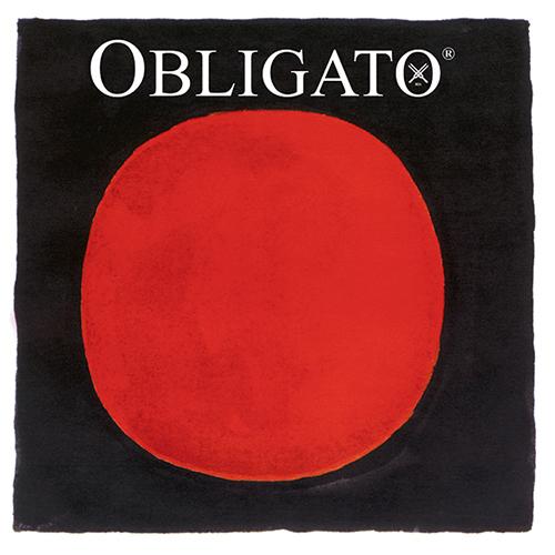 PIRASTRO Obligato Satz Violinsaiten 4/4 mit E-Schlinge, mittel